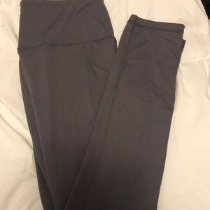 Pants - Grey leggings.